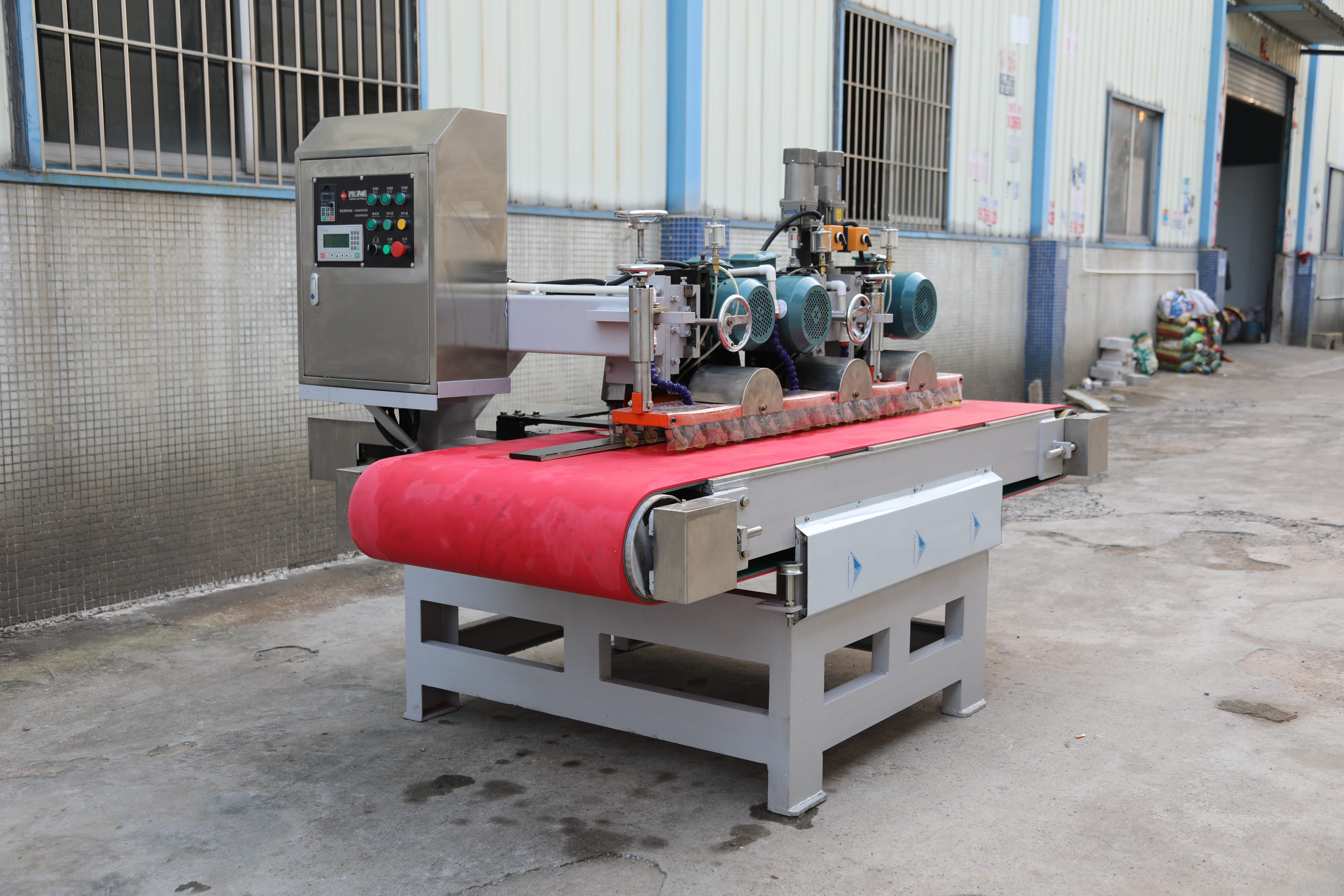 1200 CNC three-blade cutting machine exported to Saudi Arabia