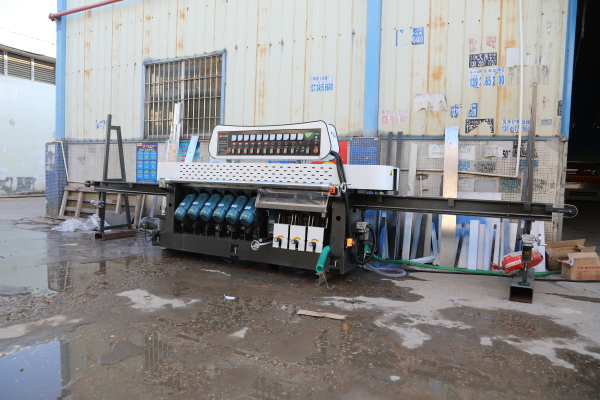 To DanDong city,LiaoNing province, Multi function automatic porcelain seamless chamfering machine