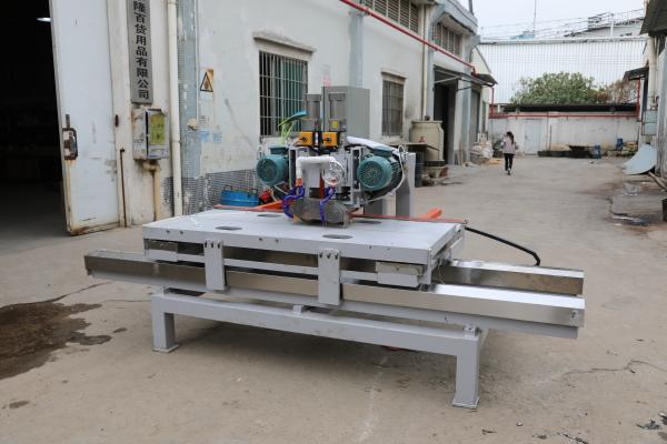 To GaoYong city,ShanDong province, 1800 mm manual CNC double blade cutting machine