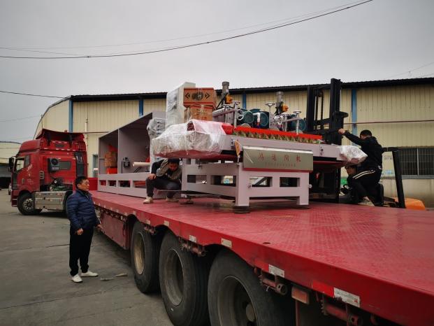 1800 mm CNC three blade automatic cutting machine to to ShaoYang city,HuNan province