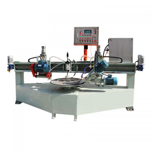 Porcelain Tile Round Table Cutting And Grinding All-in-ones Machine