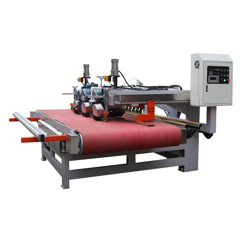2400 CNC Three-blade Cutting Machine.