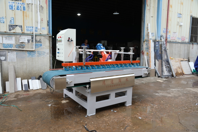 Ceramic tile inner corner cutting machine