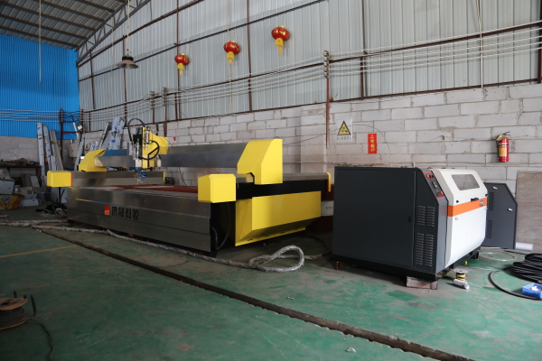 Tile waterjet cutting machine