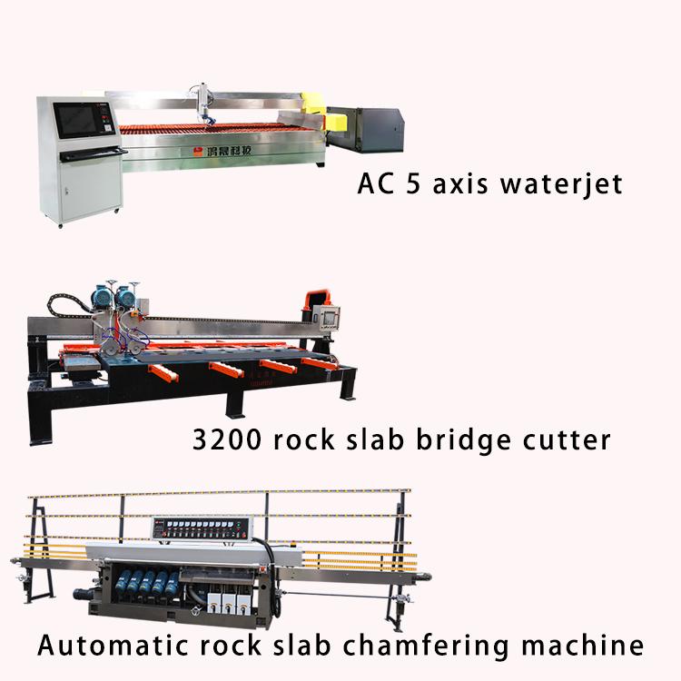 Rock slab processing equipment