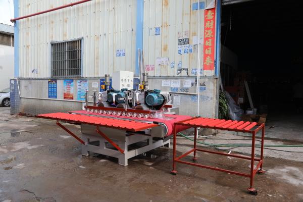 1800 type rock slab CNC three-blade cutting machine
