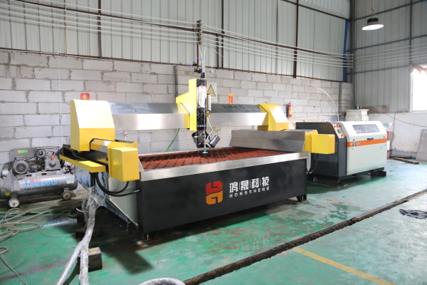 HY-AC 5 axis Water jet cutter