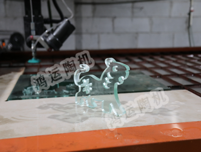 Cutting effect of waterjet cutter