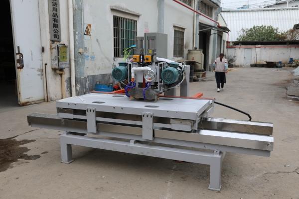 manual double-blade CNC sintered stone cutting machine