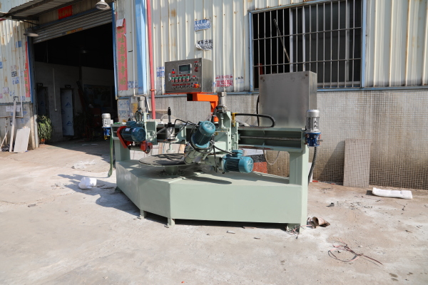1200 round table sintered stone cutting and grinding machine