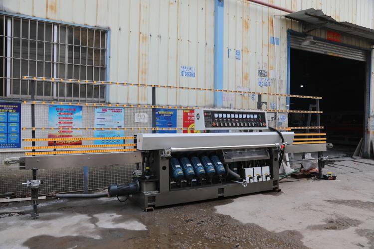 Sintered stone processing machine