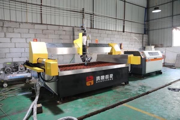 4020AC five-axis waterjet cutting machine