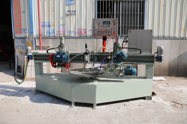 1200 round table porcelain tile cutting and grinding machine