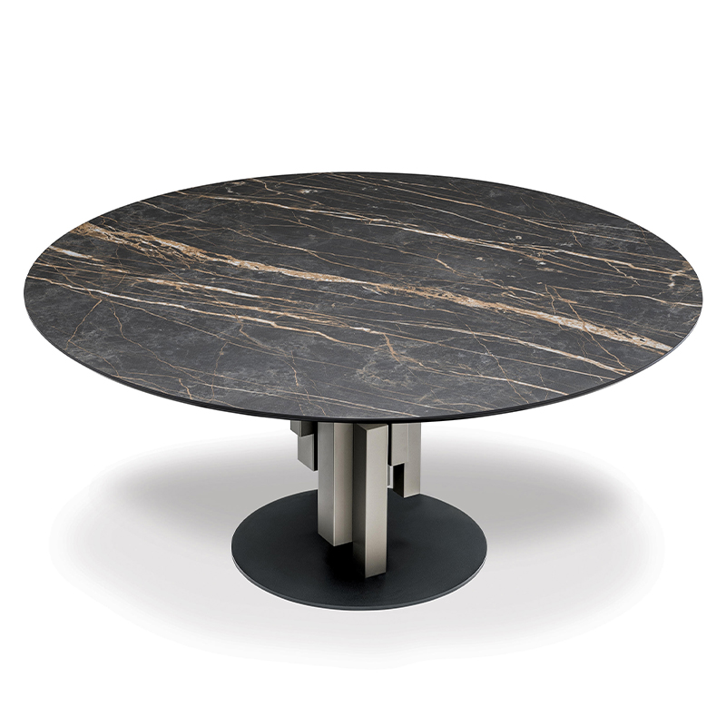 Porcelain tile table