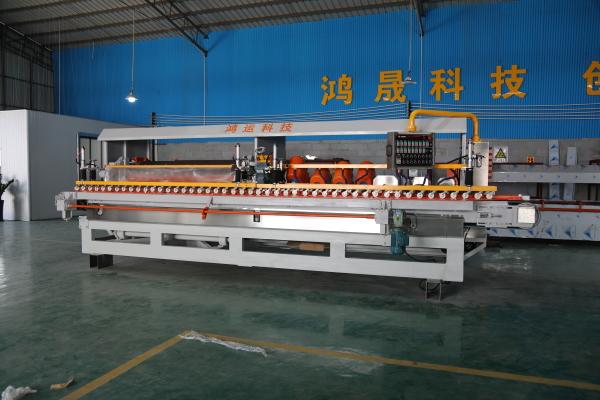 14-head automatic CNC porcelain tile special edging machine