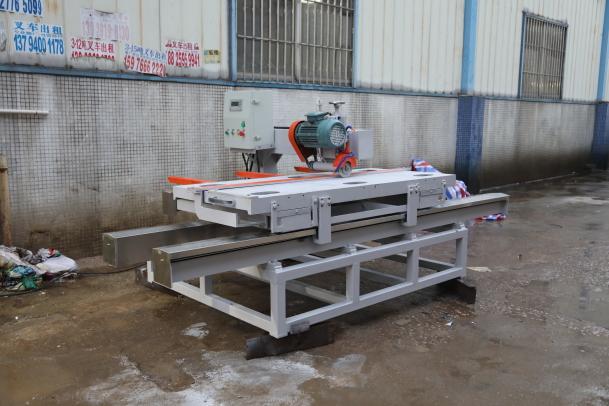1800 type manual CNC single-blade porcelain slab cutting machine